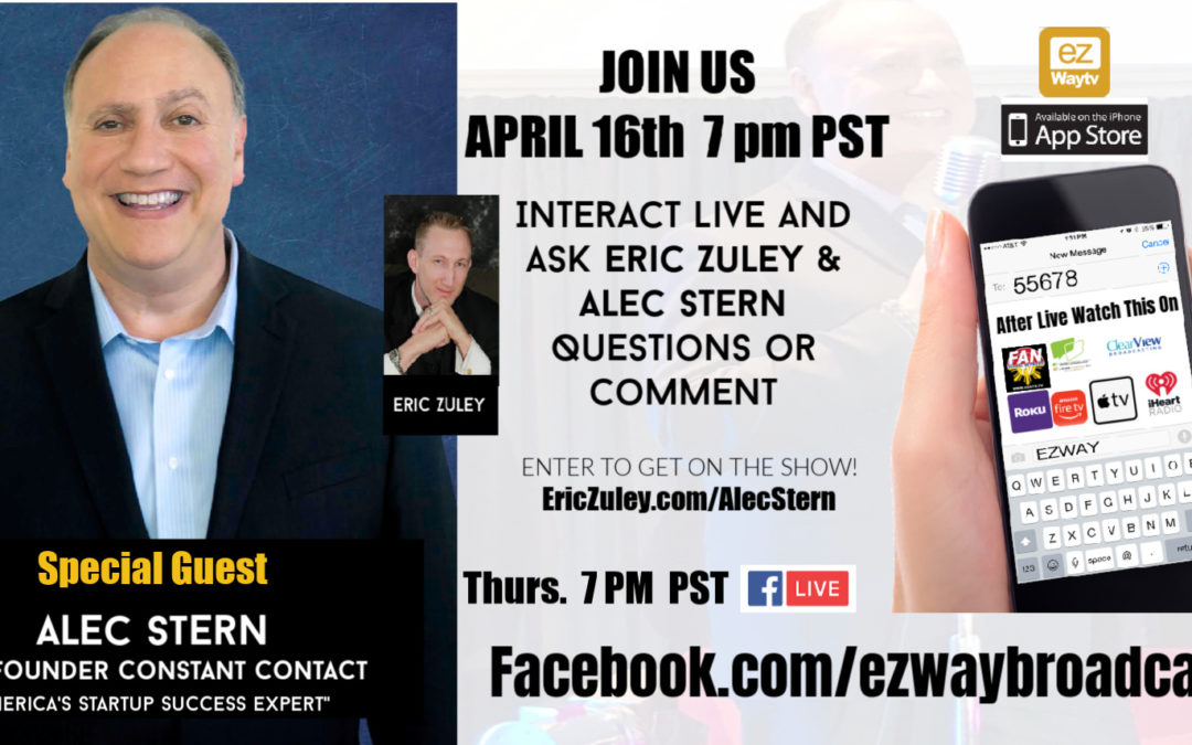Eric Zuley Live with Co-founder Constant Contact Alec Stern