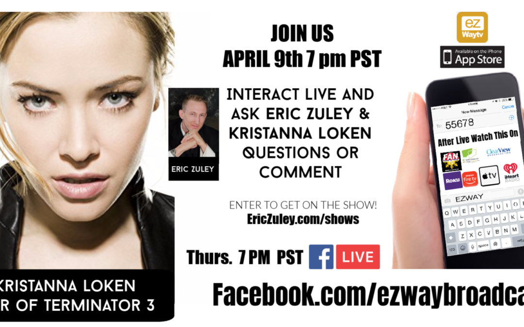 Star of Terminator 3 Kristanna Loken Live with Eric Zuley