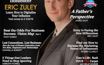 Eric Zuley Cover of Influential People Magazine