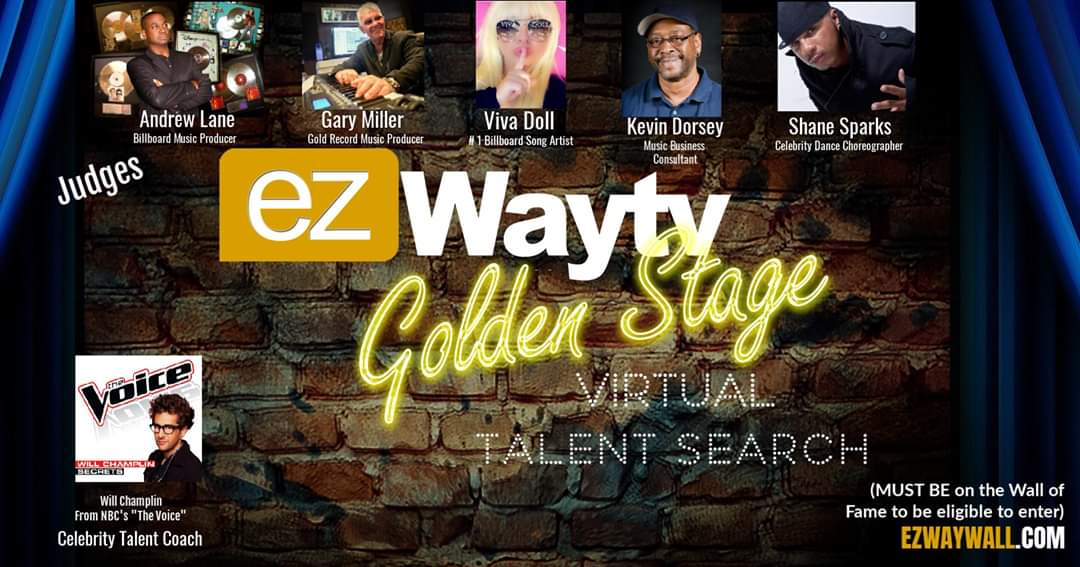 Golden Stage Virtual Talent Search produced and hosted by Eric Z