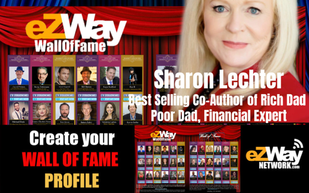 Sharon Lechter eZWay Live Interview with Eric Zuley