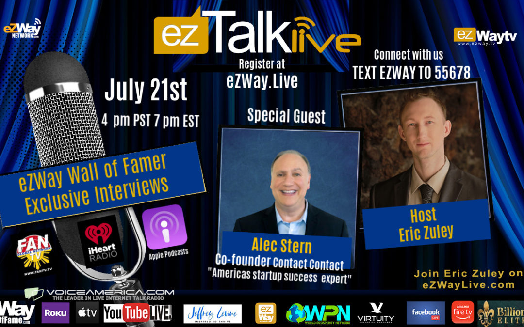 EZ TALK LIVE with Alec Stern, Tom Chesser, Dr. Money and More