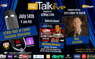 EZ TALK LIVE Film Secrets with Henning Morales, Reatha Grey